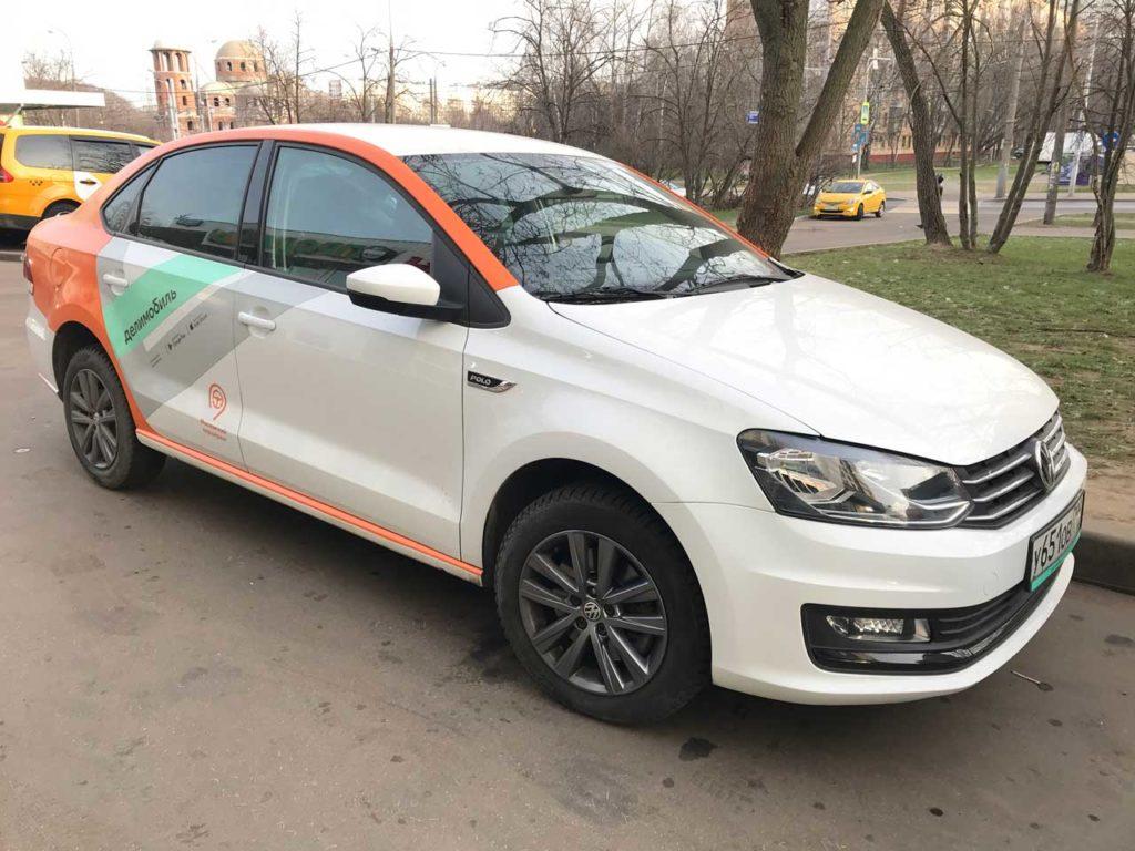 Volkswagen Polo Делимобиль