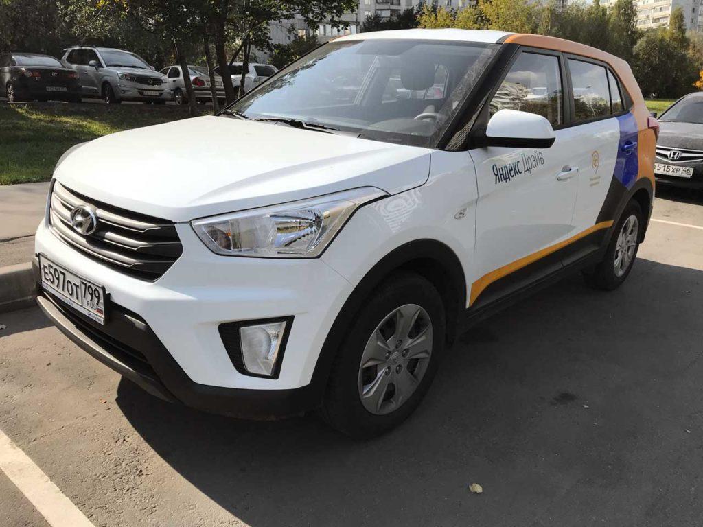 Hyundai Creta Яндекс Драйв