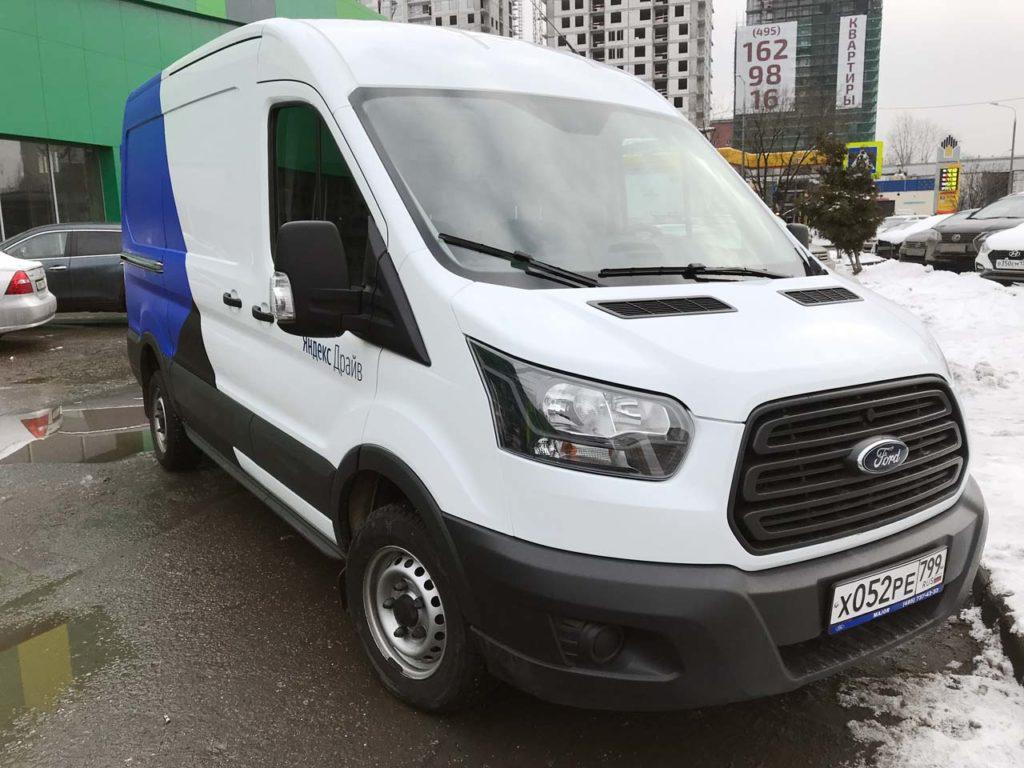 Ford Transit Яндекс Драйв