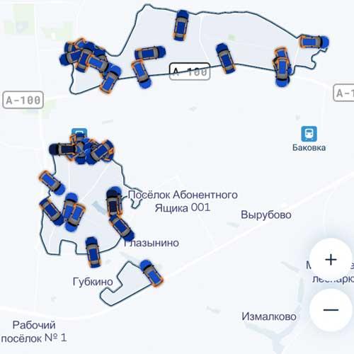 Зона Belkacar в Одинцово