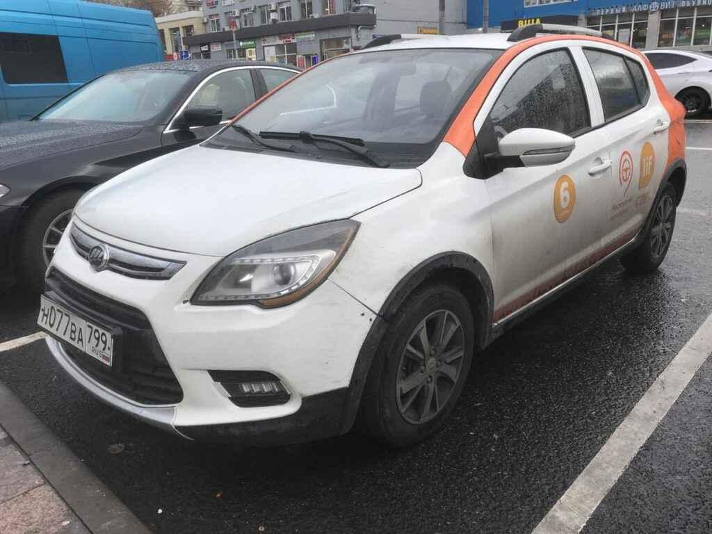 Lifan X50 в каршеринге Lifcar