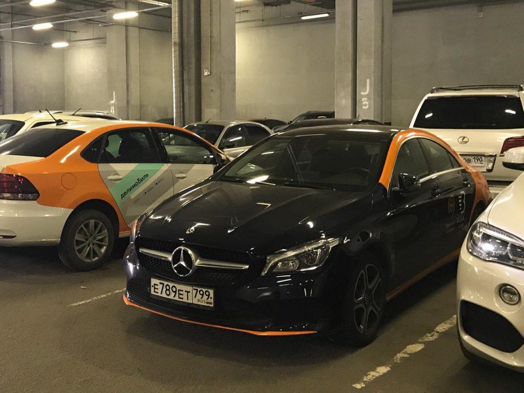 Mercedes-Benz CLA в каршеринге BelkaCar