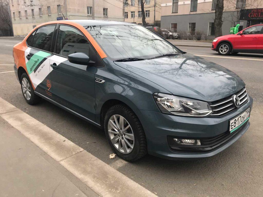 Volkswagen Polo Делимобиль в Одинцово