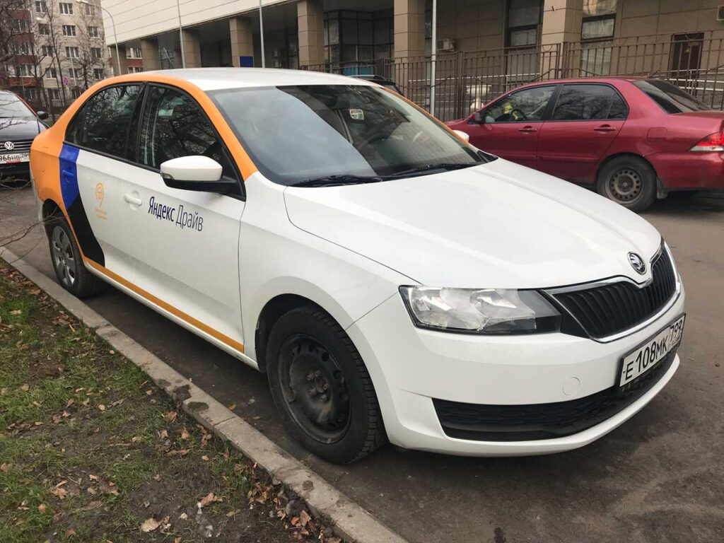 Skoda Rapid Yandex Drive СПБ