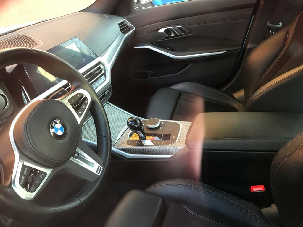 BMW 320d M3 Yandex Drive Интерьер