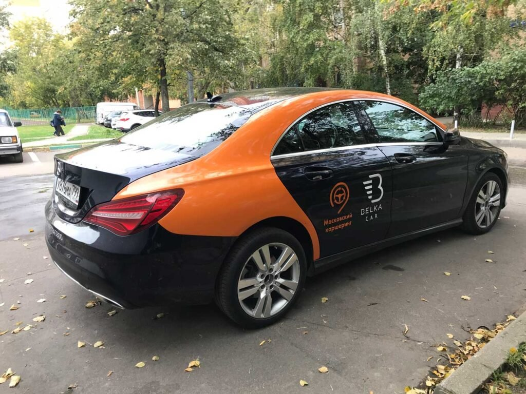 Mercedes CLA Belkacar вид сзади