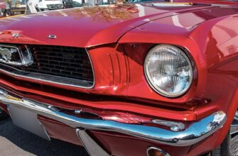 Ford Mustang от Yandex Drive